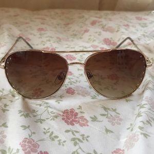 Cute studded aviator sunglasses